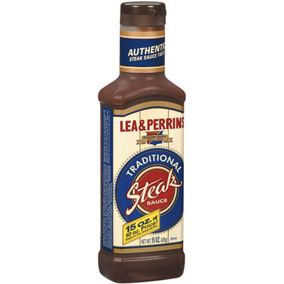LEA & PERRINS Traditional Steak Sauce 15 OZ SQUEEZE BOTTLE