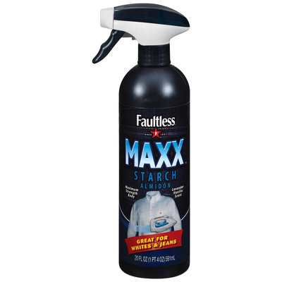 Faultless Maximum Body For Whites & Jeans Maxx Starch 20 Oz Trigger Spray