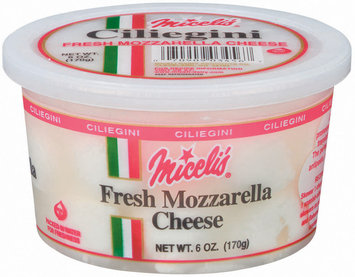Miceli's Ciliegini Mozzarella Fresh Cheese 6 Oz Tub