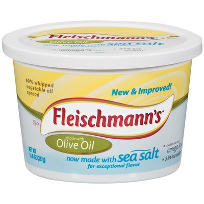 Fleischmann's Olive Oil 60% Whipped Vegetable Oil Spread 11.9 Oz Tub