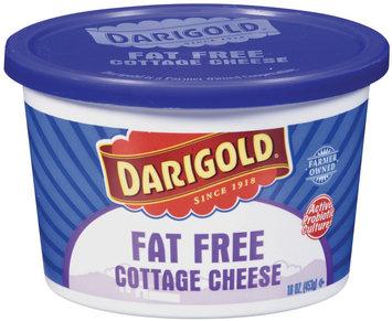 Darigold Fat Free Cottage Cheese 16 Oz Plastic Tub