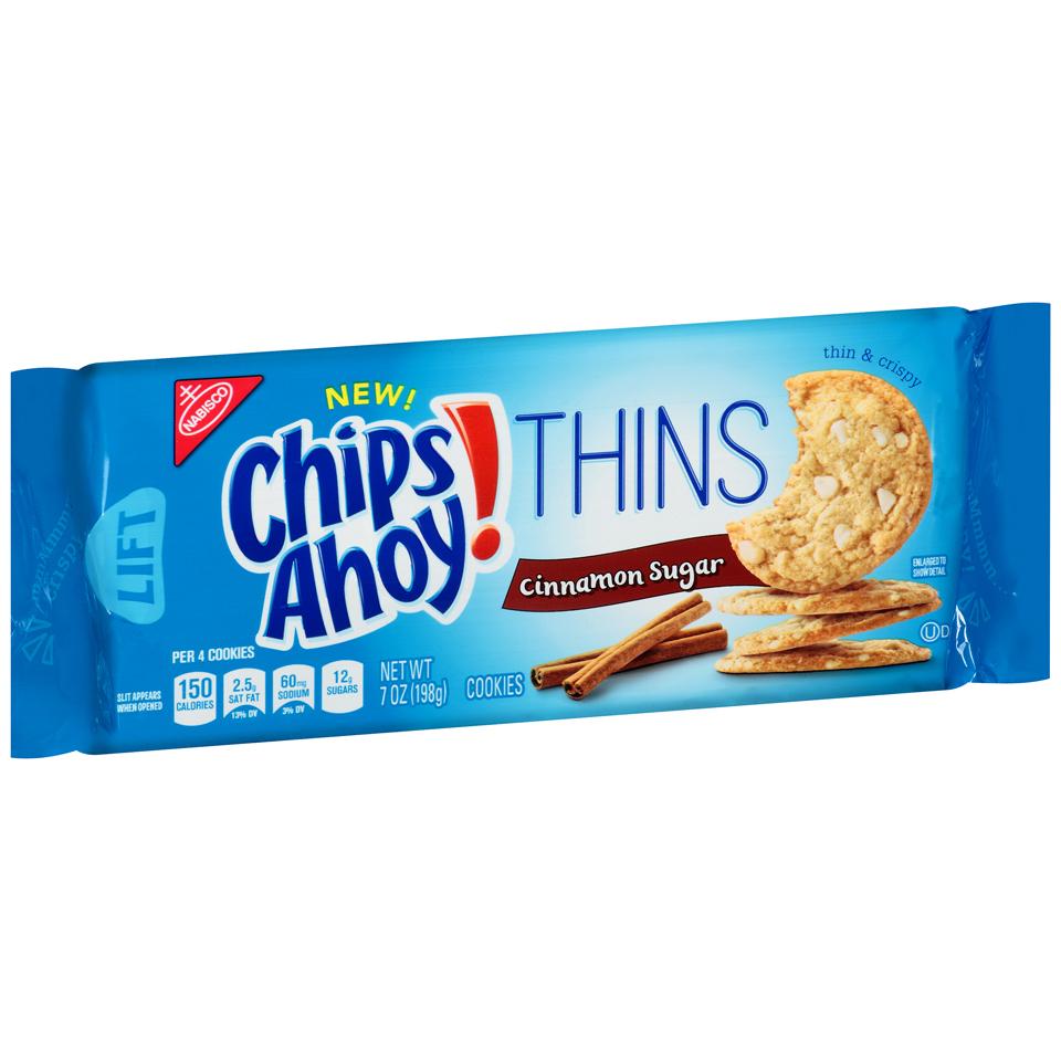 Nabisco Chips Ahoy! Thins Cinnamon Sugar Cookies