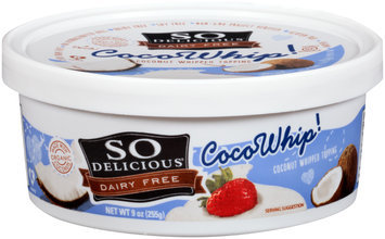 So Delicious® Cocowhip! Coconut Whipped Topping 9 oz. Tub