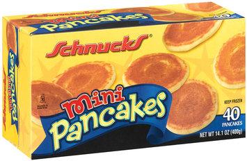 Schnucks Mini 14.1 Oz Pancakes 40 Ct Box