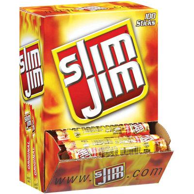 Slim Jim Original Slim 0.28 Oz  Spicy Smoked Snack 100 Ct Box