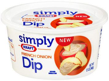 Simply Kraft French Onion Dip 12 oz Plastic Tub
