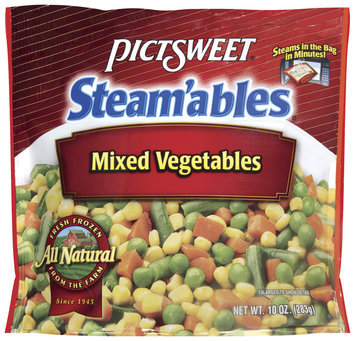 STEAM'ABLES ALL NATURAL Mixed Vegetables 10 OZ STAND UP BAG