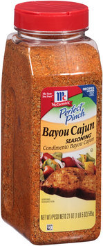 McCormick® Perfect Pinch® Bayou Cajun Seasoning 21 oz. Shaker