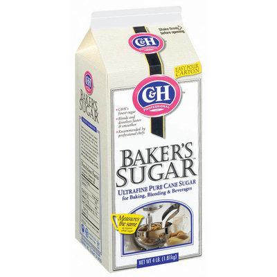C&H Baker's Pure Cane Ultrafine Sugar 4 Lb Carton