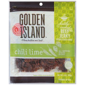 Golden Island™ Chili Lime Beef Jerky 3 oz.