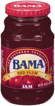 Bama® Red Plum Jam 16 ox. Jar