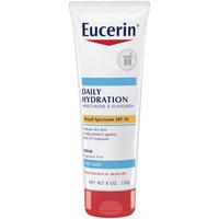 Eucerin® Daily Hydration Moisturizer & Sunscreen Broad Spectrum SPF 30 Creme 8 oz. Tube