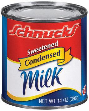 Schnucks Sweetened Condensed Milk 14 Oz Can