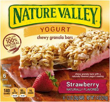 Nature Valley® Strawberry Yogurt Chewy Granola Bars 6 ct Box