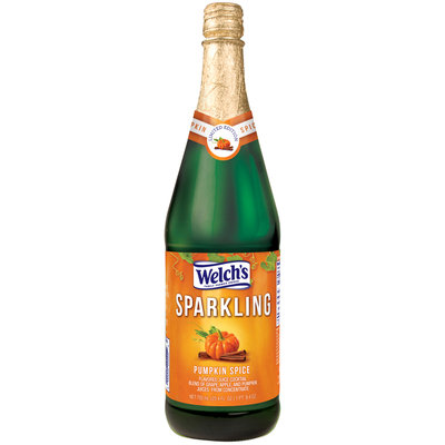 Welch's® Sparkling Pumpkin Spice Juice Cocktail 25.4 fl. oz. Glass Bottle