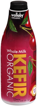 Wallaby® Organic Whole Milk Cherry Kefir 32 fl. oz. Bottle