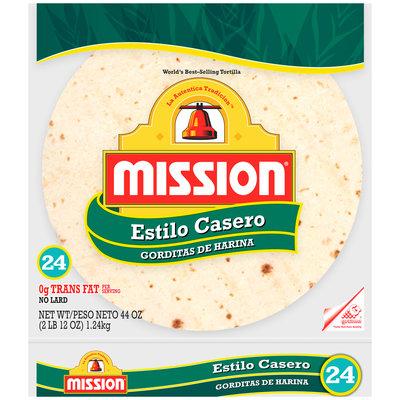 Mission® Estilo Casero Flour Tortilla 24 ct Bag