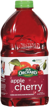 OLD ORCHARD Apple Cherry Bottled Juice Cocktail