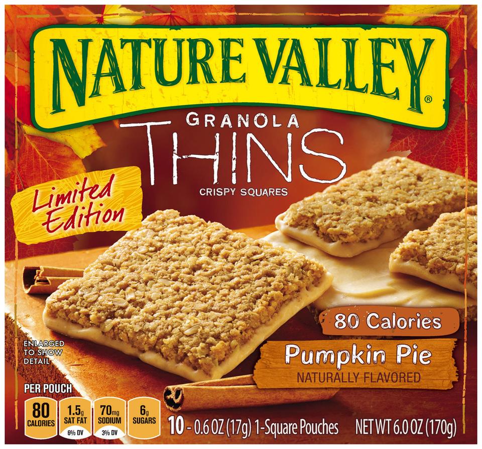 Nature Valley™ Granola Thins Pumpkin Pie Crispy Squares