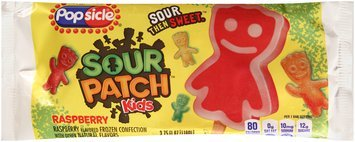 Popsicle® Kids Raspberry Sour Patch™ Ice Cream Stick