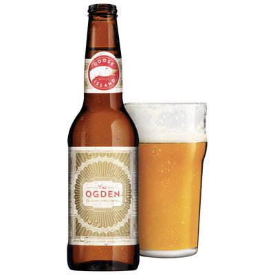 Goose Island Beer Co.® The Ogden Belgian Style Tripel Bottle with Glass