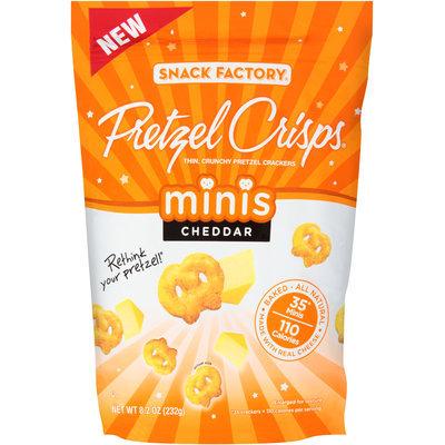 Pretzel Crisps® Crackers Minis Cheddar