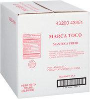 Toco Brand Frying Shortening