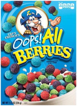 Cap'n Crunch Oops! All Berries Cereal 11.5 Oz Box