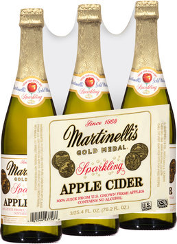 Martinelli's® Gold Medal® Sparkling Apple Cider 3-25.4 fl. oz. Bottles