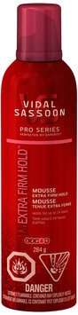 Vidal Sassoon Pro Series Extra Firm Hold Mousse 284g Bottle