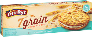 Mrs. Freshley's® 7 Grain Creme Cookies 8-1.1 oz. Box