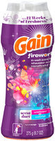 Fireworks Gain Fireworks Scent Duets Laundry Scent Booster Beads, Wildflower and Waterfall, 9.7 Oz