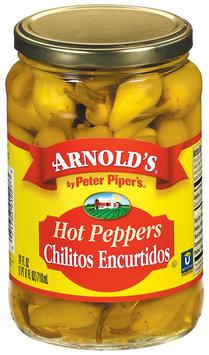 Arnold's Chilitos Encurtidos Hot Peppers 24 Fl Oz Jar
