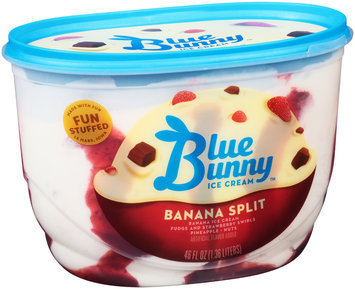Blue Bunny™ Banana Split Ice Cream 46 fl. oz. Tub
