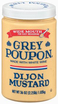 Grey Poupon Dijon Mustard Wide Mouth