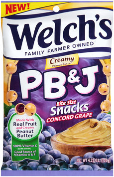 Welch's® Creamy Concord Grape PB&J Snacks