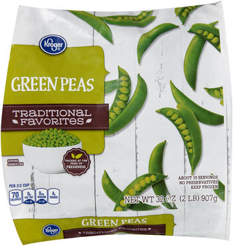 Kroger® Traditional Favorites Green Peas 32 oz. Bag