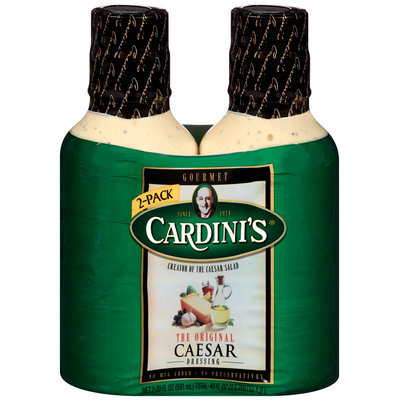 Cardini's® The Original Caesar Dressing 2-20 fl. oz. Bottles