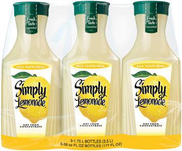 Simply Lemonade® Lemonade 3-1.75L Plastic Carafe