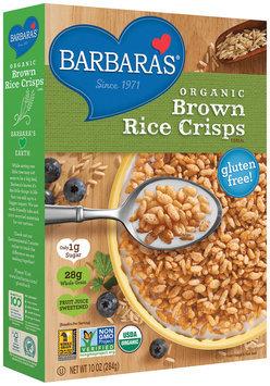 Barbara's® Organic Brown Rice Crisps Cereal