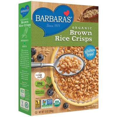 Barbara's® Organic Brown Rice Crisps Cereal 10 oz. Box