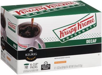 Krispy Kreme® Decaf Medium Roast Coffee 12-0.33 oz. K-Cup® Packs