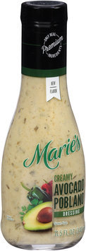 Marie's® Creamy Avocado Poblano Dressing 11.5 fl. oz. Bottle