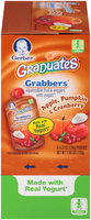 Gerber® Graduates® Grabbers® Apple, Pumpkin & Cranberry Squeezable Fruit & Veggies with Yogurt 6-4.23 oz. Pouches