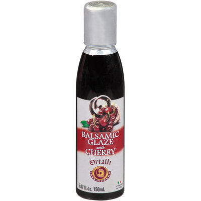 Ortalli Balsamic Glaze with Cherry 5.07 fl. oz. Bottle