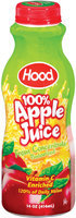 Hood 100% from Concentrate Apple Juice 1 Pt Plastic Bottle