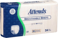 BRB4096 Attends Breathable Briefs X-Large HHC 24 count Pack