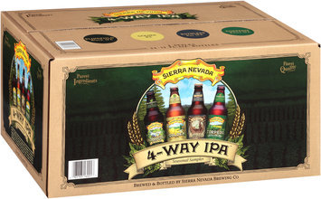 Sierra Nevada 4-Way IPA Seasonal Sampler Variety Pack Beer