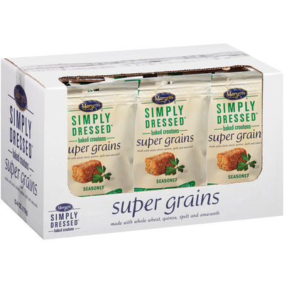 Marzetti® Simply Dressed™ Seasoned Super Grains Baked Croutons 4 oz. Pouch
