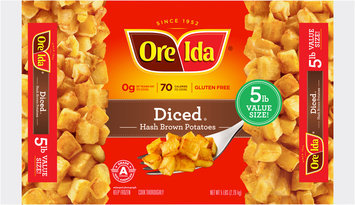 Ore-Ida® Diced Hash Brown Potatoes 5 lb. Bag